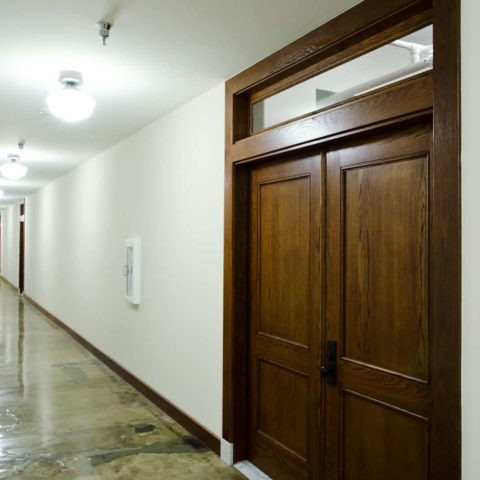 The Metropolitan Apartment Unit Door & Hallway