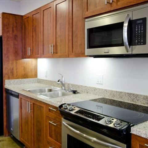 The Metropolitan Apartment Unit Kitchen