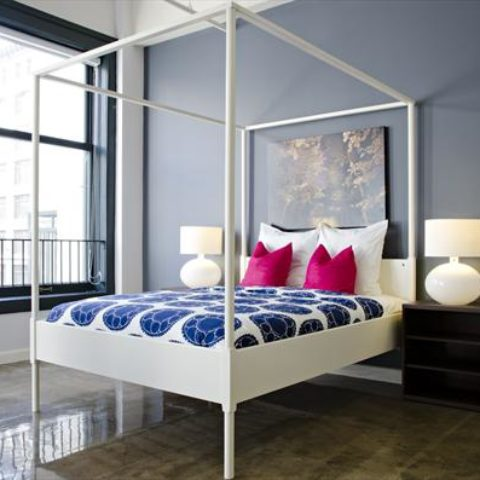 The Metropolitan Apartment Unit Bedroom