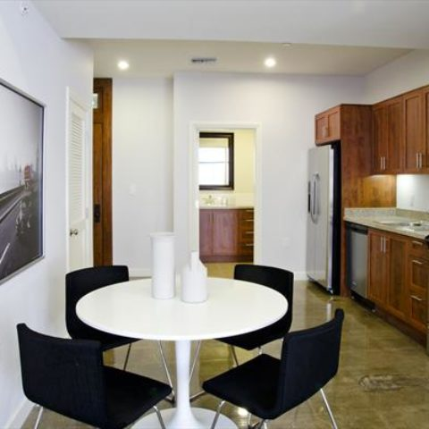 The Metropolitan Apartment Unit Kitchen & Dining Area