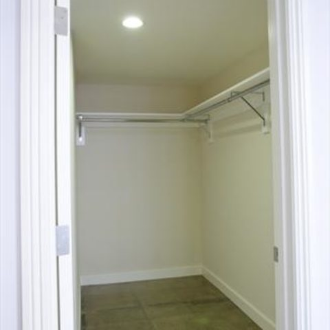 The Metropolitan Apartment Unit Walk in Closet